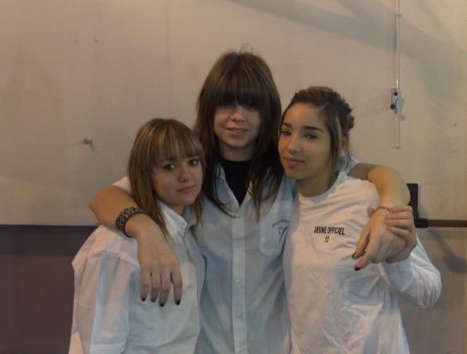 Astrid, Morgane et Shérazade