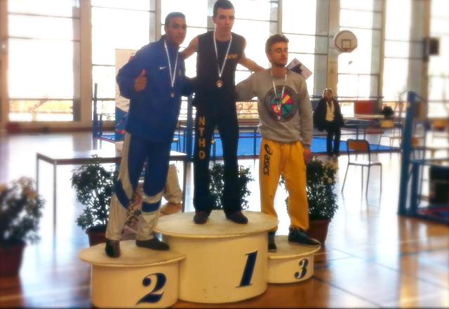 Antho champion de France universitaire 2013