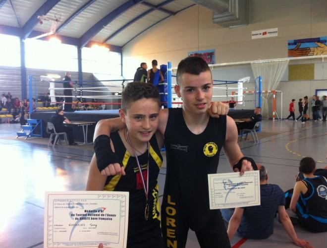 Tommy et Lorenzo à Toulouse