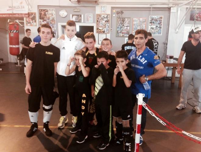 Interclub de boxe française jeunes