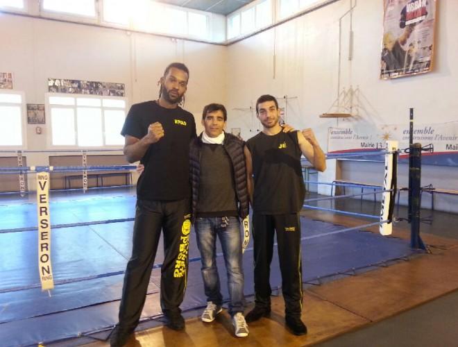 interclub adulte boxe française novembre 2014