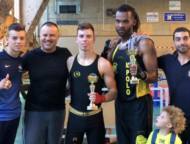 Jerome et Antho champion secteur challenge 2015
